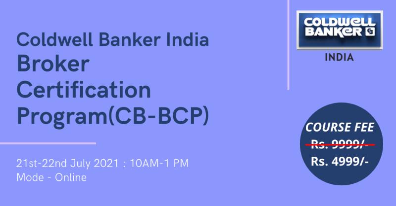 Coldwell Banker RE Broker Certification Program